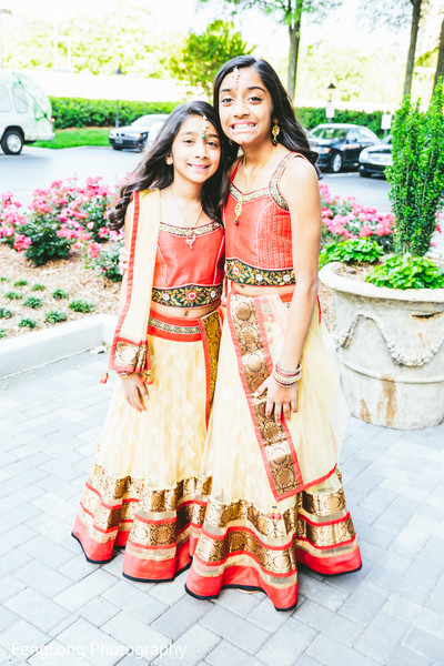 Flower Girls in Atlanta, GA Indian Wedding by FengLong Photography