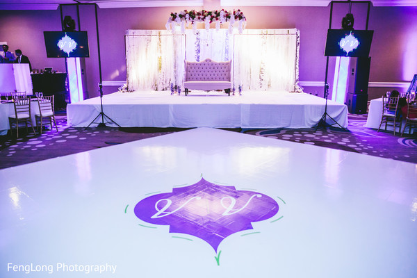 Floral & Decor in Atlanta, GA Indian Wedding by FengLong Photography