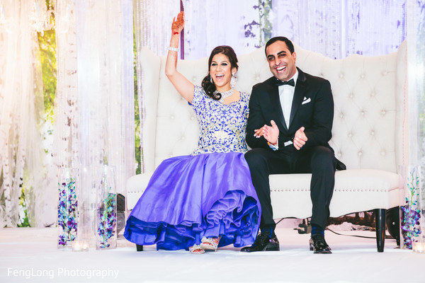 Reception in Atlanta, GA Indian Wedding by FengLong Photography