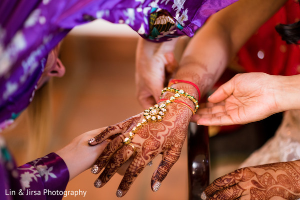 Bridal Jewelry in Santa Susana, CA Indian Wedding by Lin & Jirsa Photography