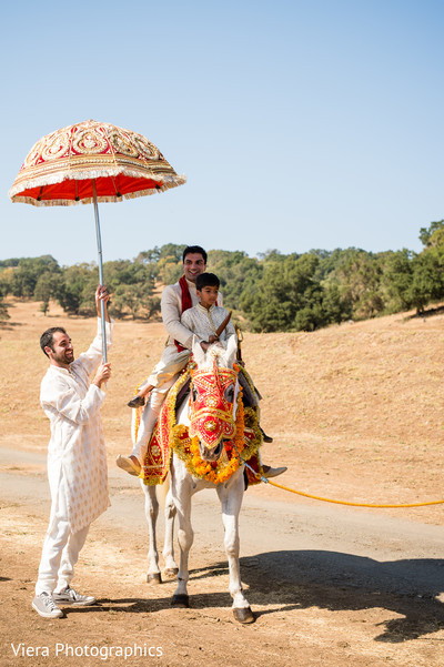 Baraat in Kenwood, CA Indian Fusion Wedding by Viera Photographics