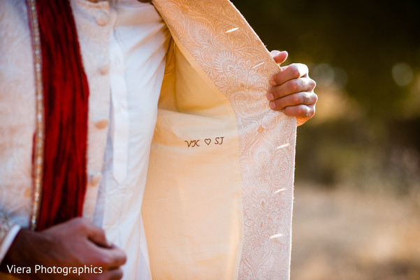 Wedding Portrait in Kenwood, CA Indian Fusion Wedding by Viera Photographics