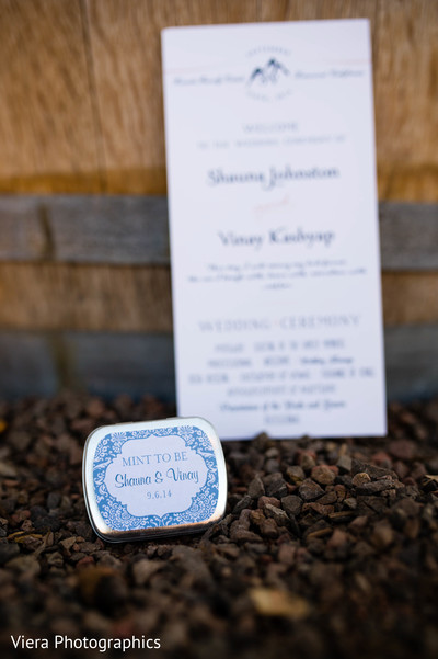Favors in Kenwood, CA Indian Fusion Wedding by Viera Photographics