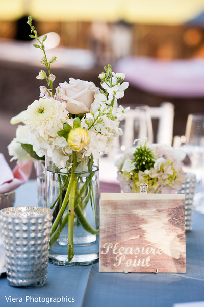 Floral & Decor in Kenwood, CA Indian Fusion Wedding by Viera Photographics