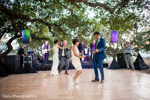 Reception in Kenwood, CA Indian Fusion Wedding by Viera Photographics