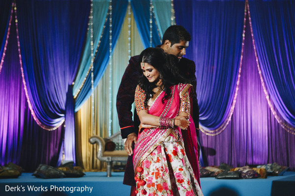 Sangeet in Columbus, OH Indian Wedding by Derk's Works