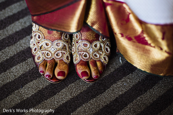Getting Ready in Columbus, OH Indian Wedding by Derk's Works