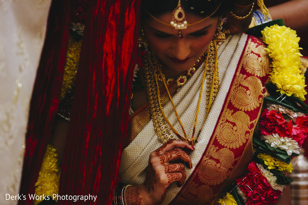 Ceremony in Columbus, OH Indian Wedding by Derk's Works