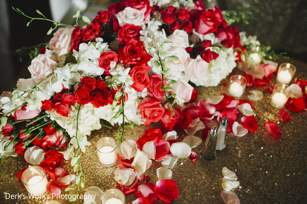 Floral & Decor in Columbus, OH Indian Wedding by Derk's Works