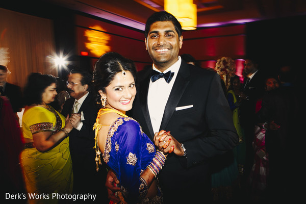 Reception in Columbus, OH Indian Wedding by Derk's Works
