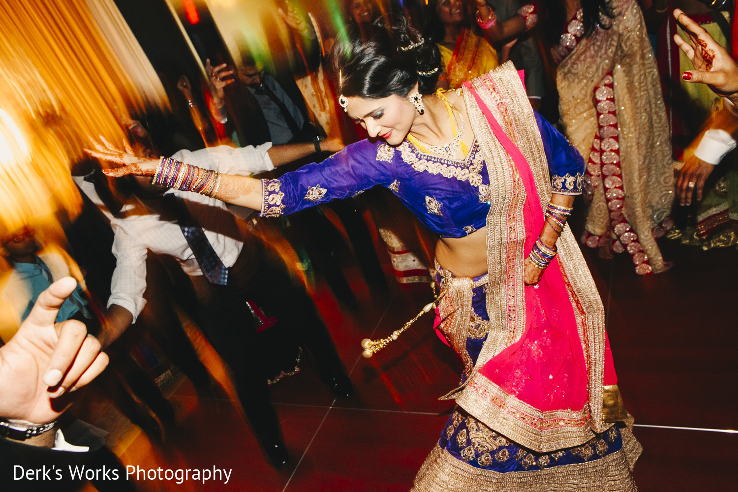 Reception in columbus oh indian wedding by derk 39 s works for Indian jewelry in schaumburg il
