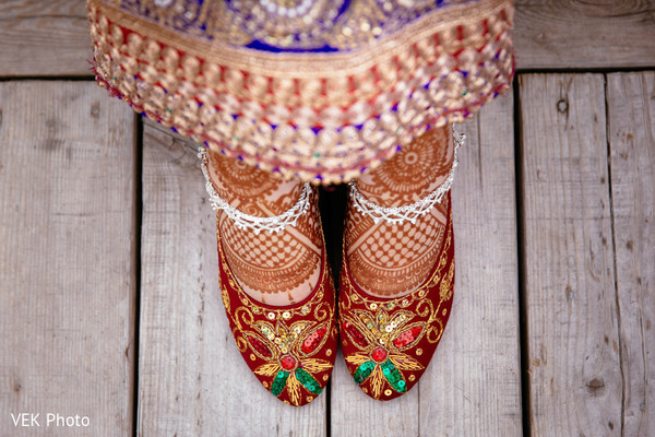 Mehndi & Shoes in Horseshoe Bay, TX South Asian Wedding by VEK Photo