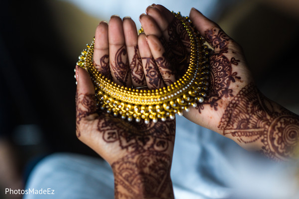 Bridal Jewelry in Jersey City, NJ Indian Wedding by PhotosMadeEz