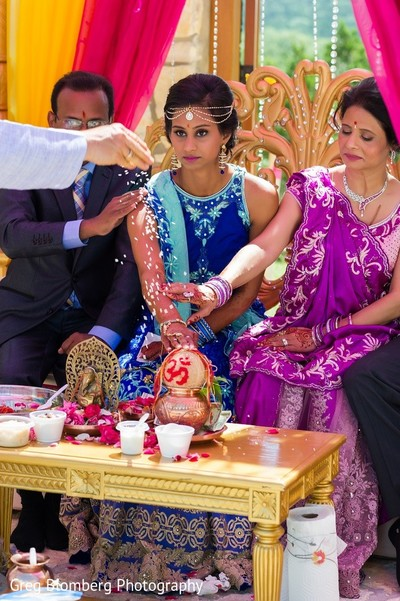 Pre-Wedding Ceremony in Fischer, TX Indian Wedding by Greg Blomberg Photography
