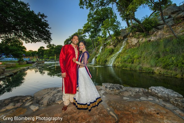 Pre-Wedding Portrait in Fischer, TX Indian Wedding by Greg Blomberg Photography