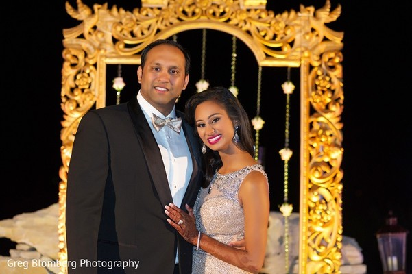 Reception in Fischer, TX Indian Wedding by Greg Blomberg Photography