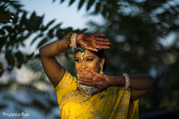 Bridal Portrait in Staten Island, NY Indian Wedding by Priyanca Rao Photography