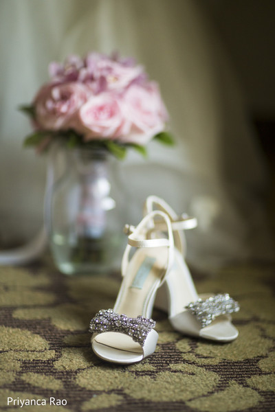 Shoes in Staten Island, NY Indian Wedding by Priyanca Rao Photography
