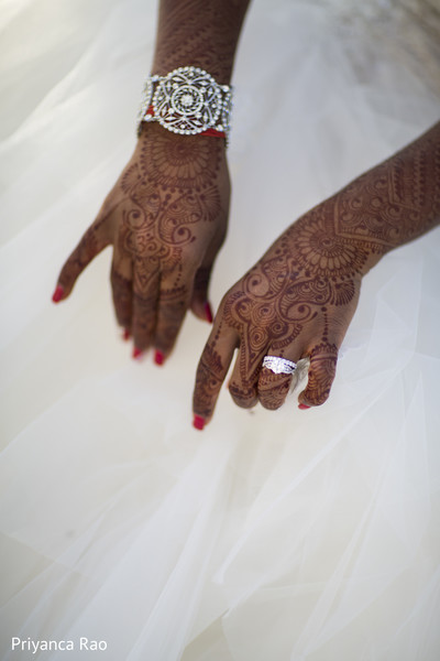 Mehndi in Staten Island, NY Indian Wedding by Priyanca Rao Photography