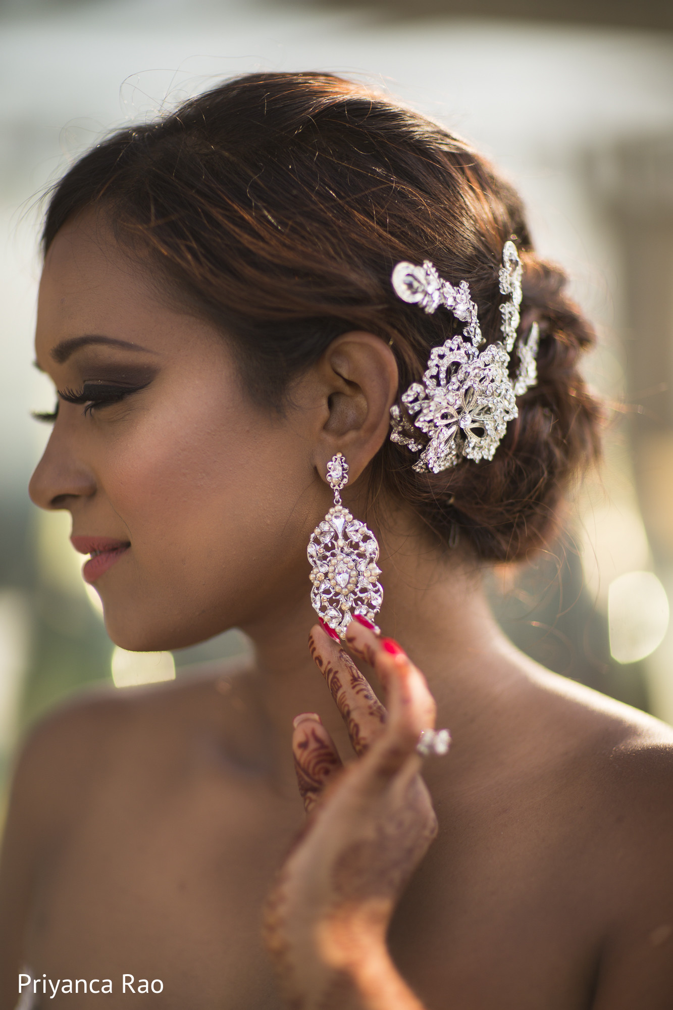 Reception portrait in staten island ny indian wedding by for Indian jewelry in schaumburg il