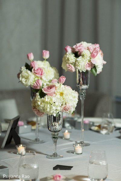Floral & Decor in Staten Island, NY Indian Wedding by Priyanca Rao Photography