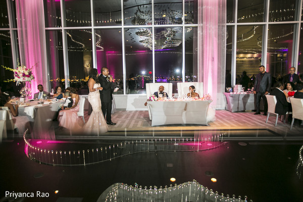 Reception in Staten Island, NY Indian Wedding by Priyanca Rao Photography