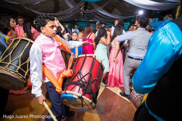 Reception in Woodbury, NY Indian Wedding by Hugo Juarez Photography