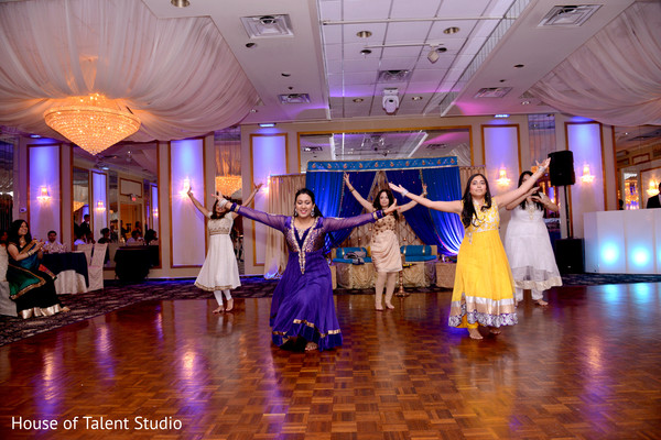 Sangeet in Woodland Park, NJ Indian Fusion Wedding by House of Talent Studio