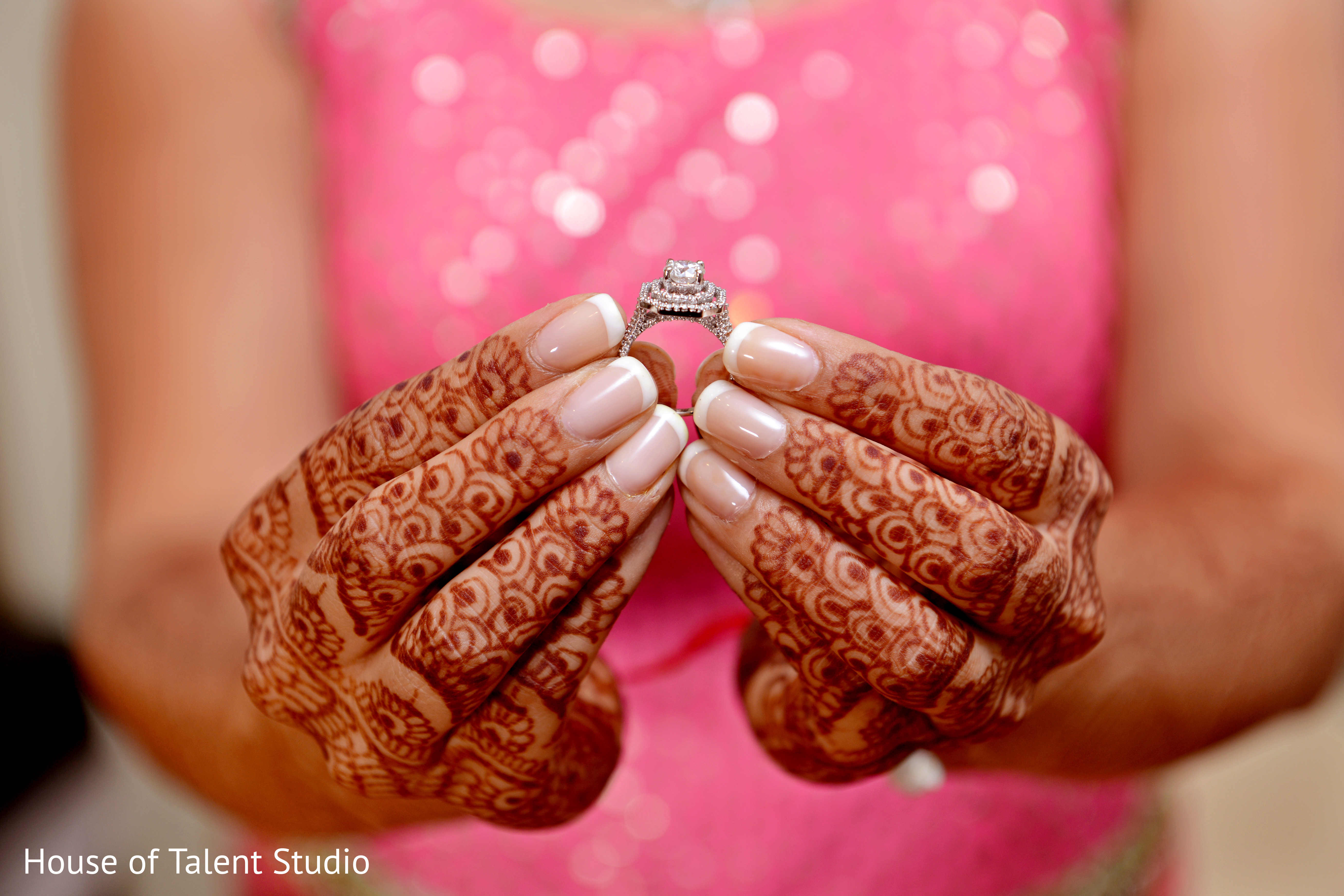Bridal Jewelry in Woodland Park, NJ Indian Fusion Wedding by House ...