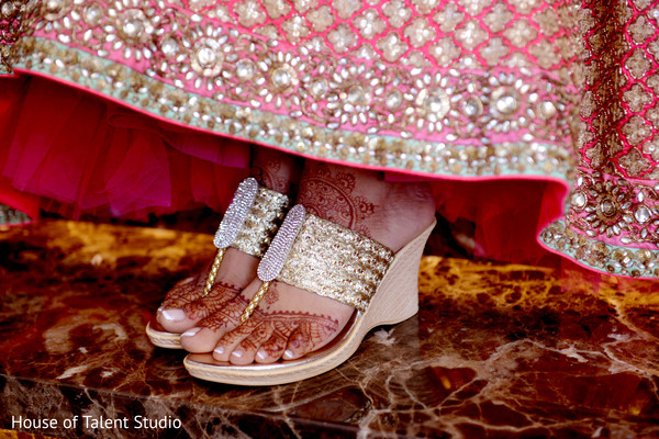 Shoes in Woodland Park, NJ Indian Fusion Wedding by House of Talent Studio
