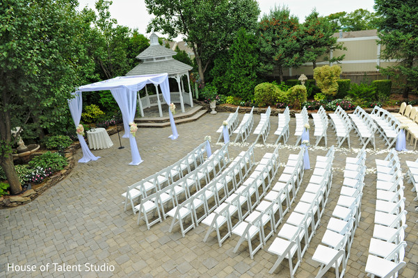 Ceremony Venue in Woodland Park, NJ Indian Fusion Wedding by House of Talent Studio