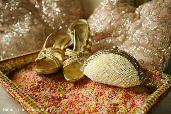 indian bridal accessories,indian wedding shoes,indian bridal footwear,indian bride getting ready