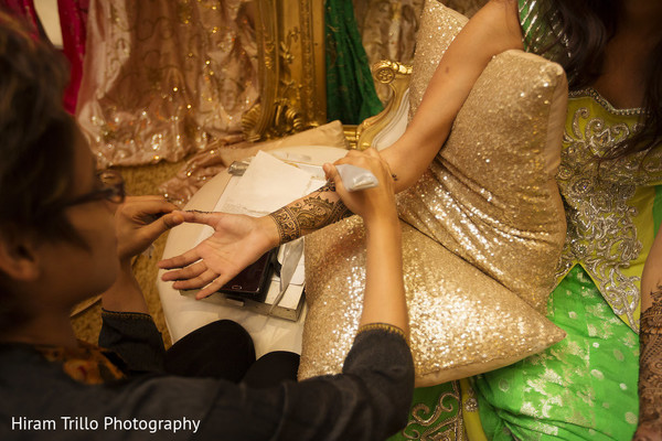Mehndi in Richmond, TX South Asian Wedding by Hiram Trillo Art Photography