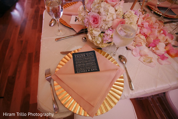 Reception Decor in Richmond, TX South Asian Wedding by Hiram Trillo Art Photography