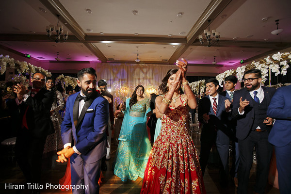 Reception in Richmond, TX South Asian Wedding by Hiram Trillo Art Photography