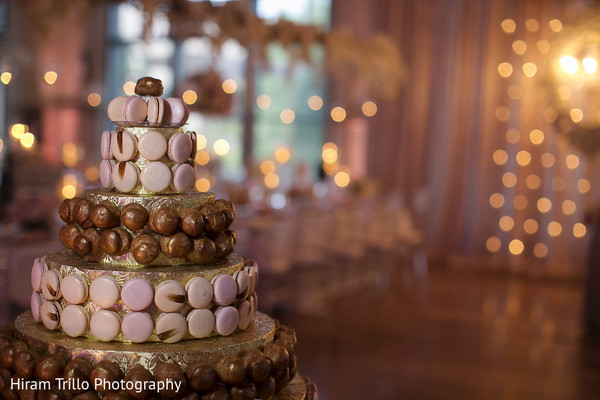 Cake in Richmond, TX South Asian Wedding by Hiram Trillo Art Photography
