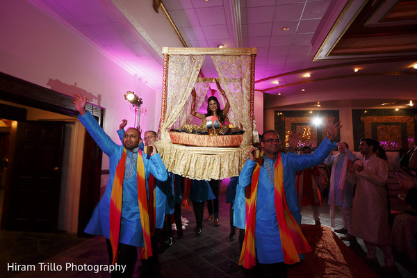 Sangeet Doli in Richmond, TX South Asian Wedding by Hiram Trillo Art Photography