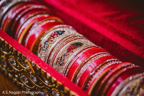 Bridal Jewelry in Princeton, NJ Indian Wedding by A.S. Nagpal Photography