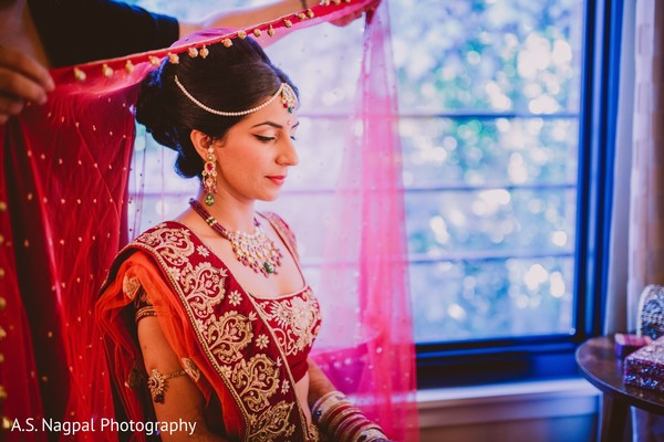 Getting Ready in Princeton, NJ Indian Wedding by A.S. Nagpal Photography