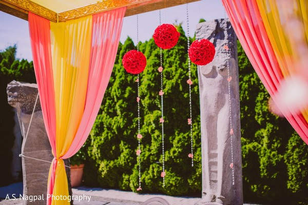 Floral & Decor in Princeton, NJ Indian Wedding by A.S. Nagpal Photography