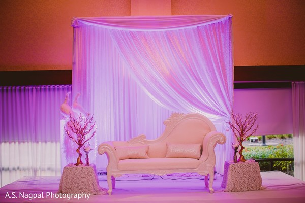 Sweetheart Stage in Princeton, NJ Indian Wedding by A.S. Nagpal Photography