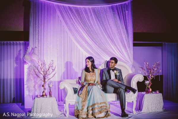 Reception in Princeton, NJ Indian Wedding by A.S. Nagpal Photography