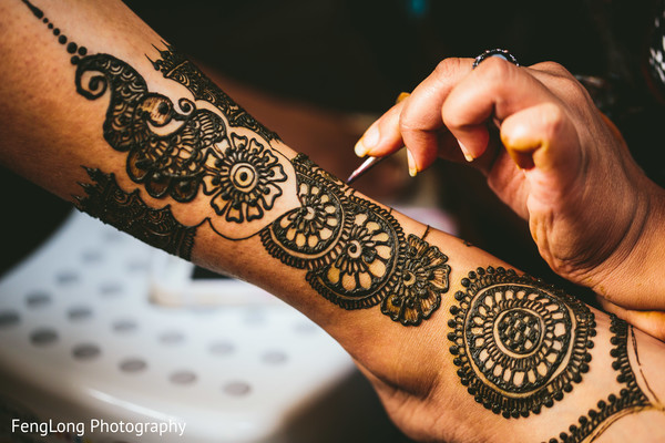 Mehndi in Atlanta, GA South Asian Wedding by FengLong Photography