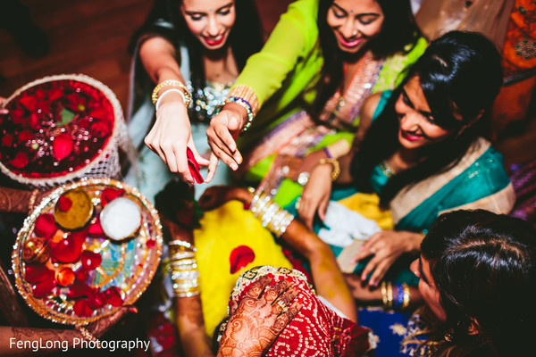 Pithi in Atlanta, GA South Asian Wedding by FengLong Photography