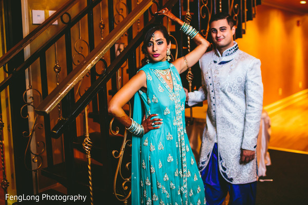 Pre-Wedding Portrait in Atlanta, GA South Asian Wedding by FengLong Photography