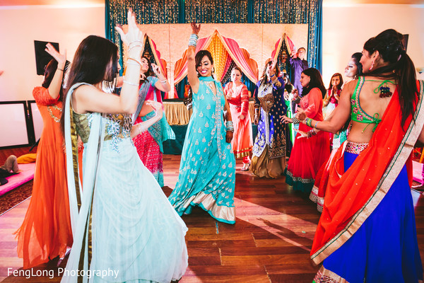 Sangeet Night in Atlanta, GA South Asian Wedding by FengLong Photography