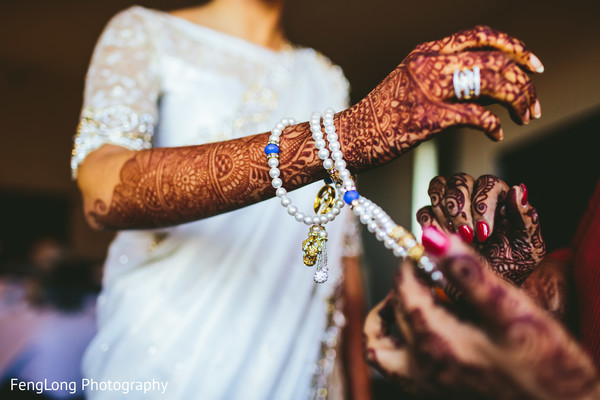 Getting Ready in Atlanta, GA South Asian Wedding by FengLong Photography
