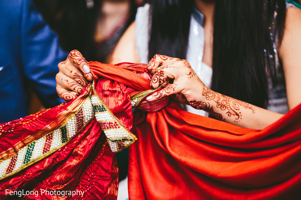 Ceremony in Atlanta, GA South Asian Wedding by FengLong Photography