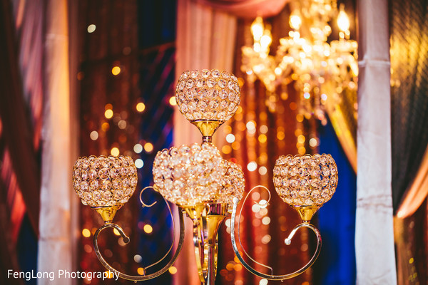Floral & Decor in Atlanta, GA South Asian Wedding by FengLong Photography