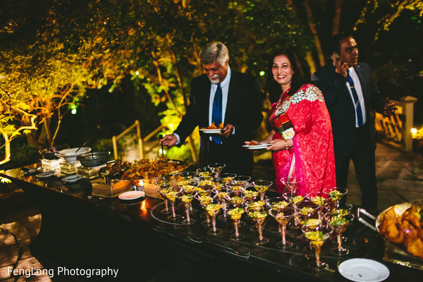 Catering in Atlanta, GA South Asian Wedding by FengLong Photography
